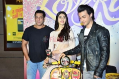 Loveratri Trailer Launch Photos