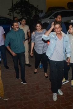 Shahrukh Khan at Special Screening Of Fanney Khan