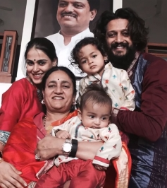 South Indian Actress with their Children Photos