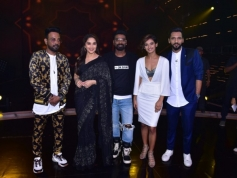 Madhuri Dixit On The Set Of Dance Plus 4