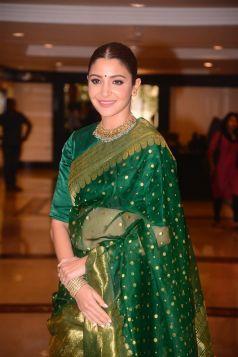 Anushka Sharma Felicitated at the 34th Priyadarshini Academy Global Awards