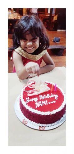 Namitha Pramod Birthday Celebration