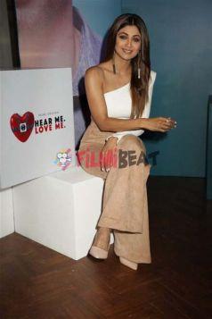 Shilpa Shetty at Launch of Amazon Prime Hear Me Love Me Show In New Delhi