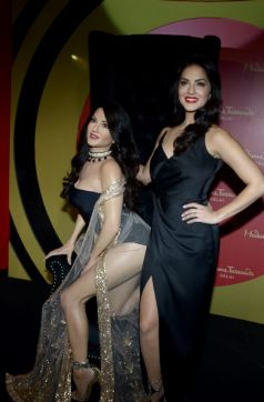 Sunny Leone Unveiled Her Statute At Madame Tussauds In New Delhi