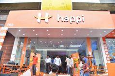Rashmika Mandanna Launches Happi Mobiles At Banjara Hills