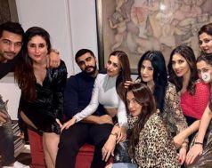 Arjun Kapoor & Malaika Arora party with Kareena Kapoor Khan