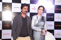 Nawazuddin Siddiqui and Amrita Rao Promote  Thackeray In New Delhi
