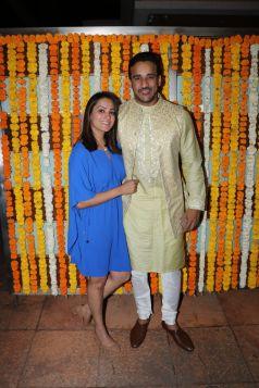 Celebs At Ekta Kapoor\'s Son Ravie Kapoor\'s Naming Ceremony