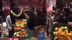 Kannada Actress Amulya Husband Jagadish Birthday Party