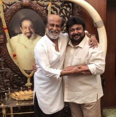 Rajnikanth Meets Celebs And Invites Them To Their Daughter Marriage