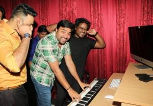 Yuvan Shankar Raja Launch Green Apple Studio Productions