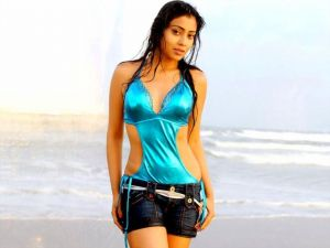 Wet South Indian Actresses In Beach