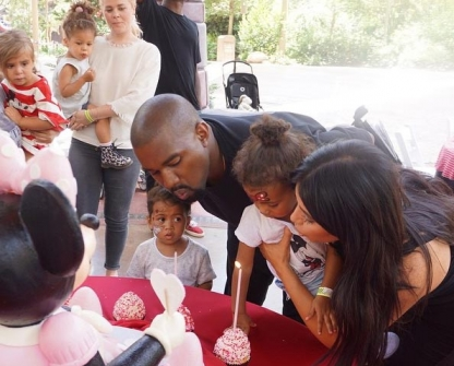 Kim Kardashian Celebrated North West 2nd Birthday At Disneyland