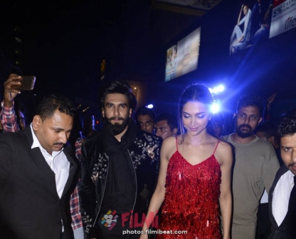 Ranveer Singh & Deepika Padukone At XXX Return Of The Xander