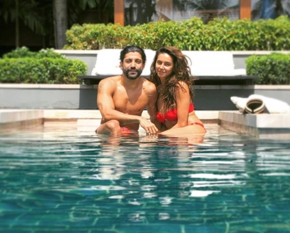 Lovebirds Farhan Akhtar and Shibani Dandekar Enjoy Their Vacation In Mexico
