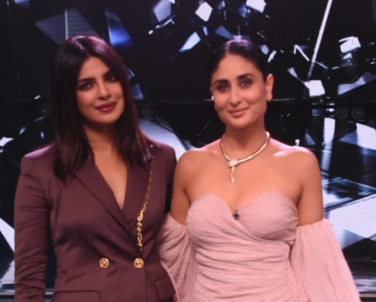 Priyanka Chopra and Farhan Akhtar Promote 'The Sky Is Pink' on the sets of Dance India Dance