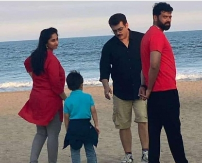 Ajith kumar Family And Unseen Rare Photos