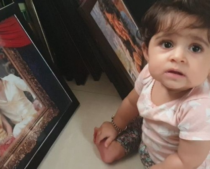 Cutest Photos Of Yash & Radhika Pandit Daughter
