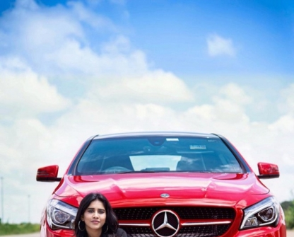 Nabha Natesh Brings Home BMW Car