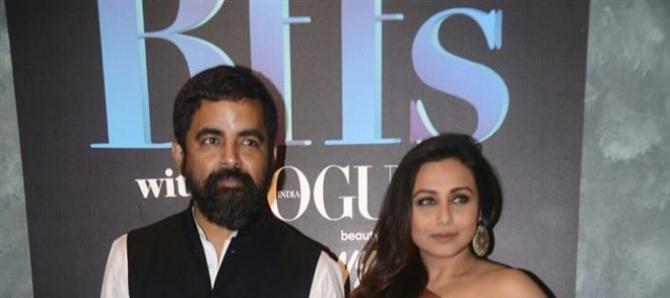 Rani Mukerji & Sabhyasachi On The Sets Of Vogue BFFs