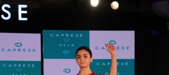 Alia Bhatt Walks The Ramp For Comprese
