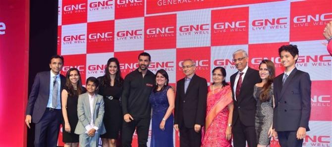John Abraham Brand Ambassador For Wellness Brand GNC