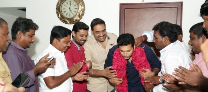 Jayam Ravi 38th Birth Day Celebrations