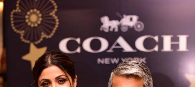 Shilpa Shetty At Launch of Coach