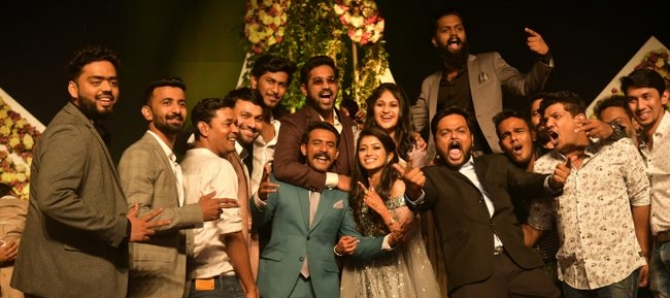 Arjun Ashokan Wedding Reception