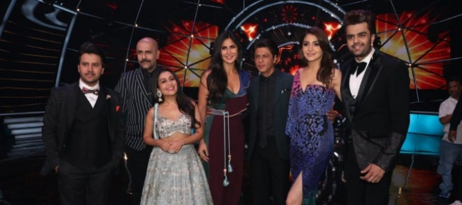 Zero Movie Promotions On The Sets Of Indian Idol