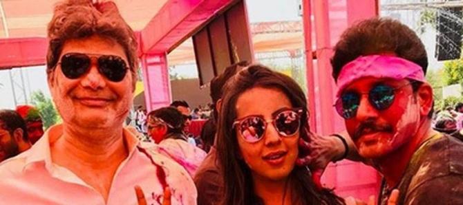 Crazy Holi Celebration Of Indian Celebs