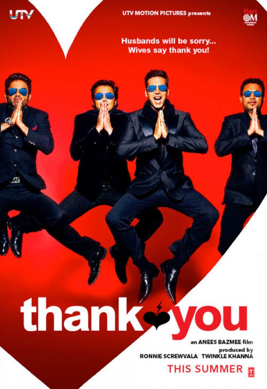 Movie poster of the movie Thank You
