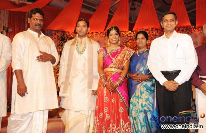 Shyam Prasad Reddy Daughter Wedding Photos - FilmiBeat