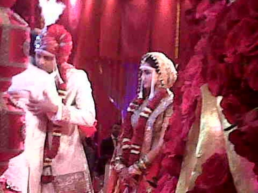 Ritesh Deshmukh and Genelia D'Souza Wedding Photos