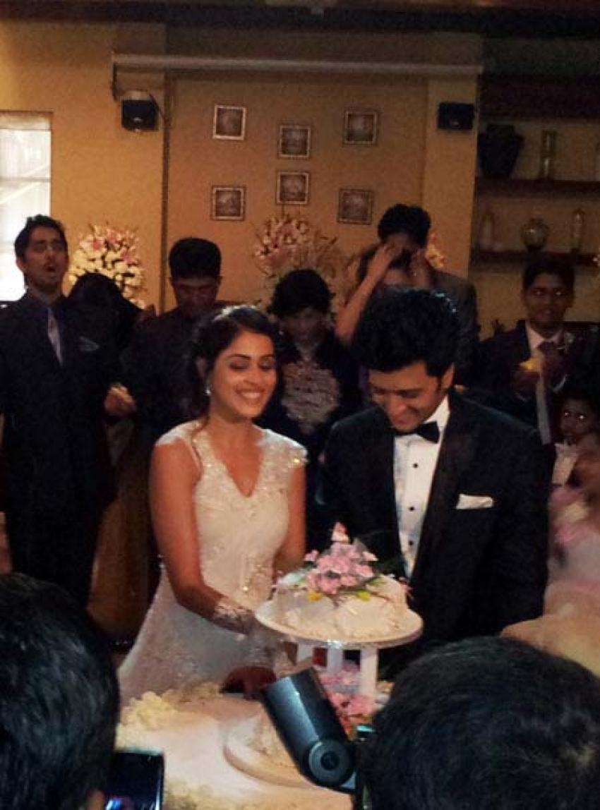 Ritesh Deshmukh and Genelia D\'Souza Wedding Gallery
