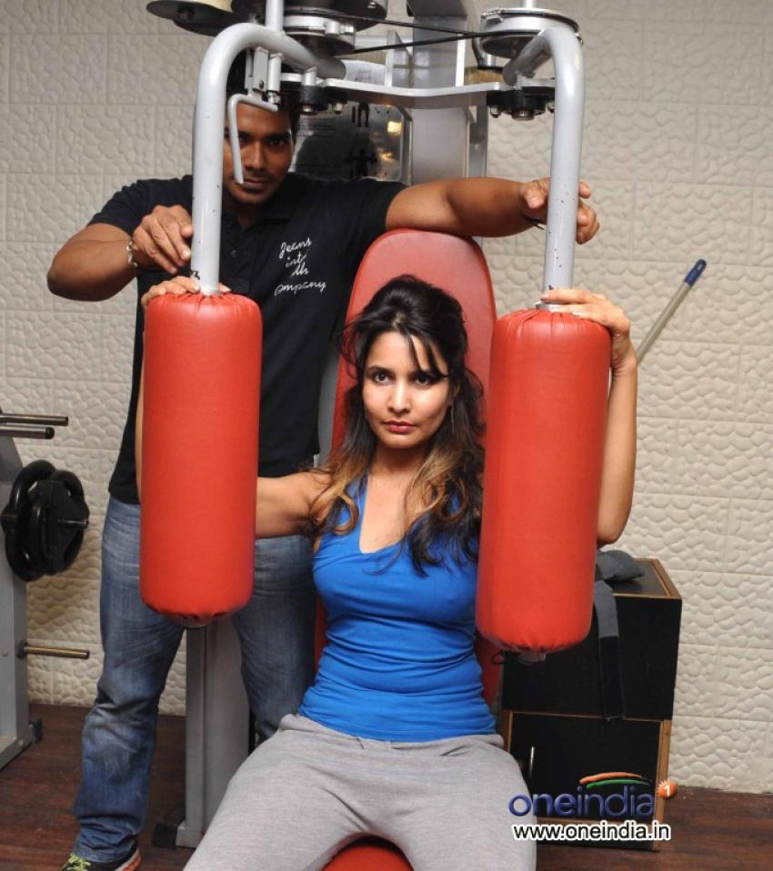 Rashaana Shah Rigorous Work Out Photos