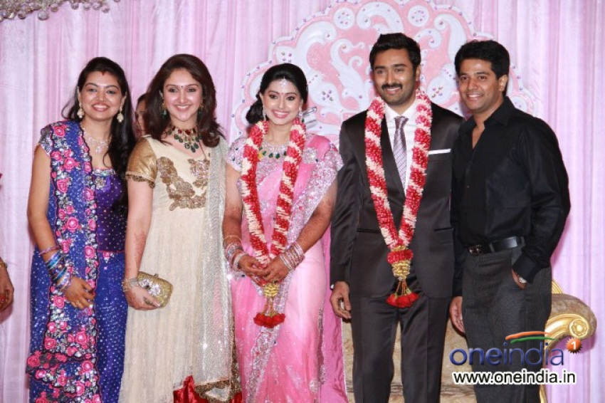 Sneha And Prasanna Wedding Reception Photos Filmibeat