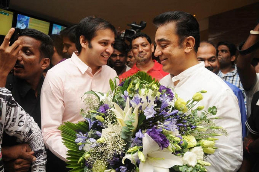Kamal Haasan Inaugurated S2 Theatre (Spectrum Mall) Photos
