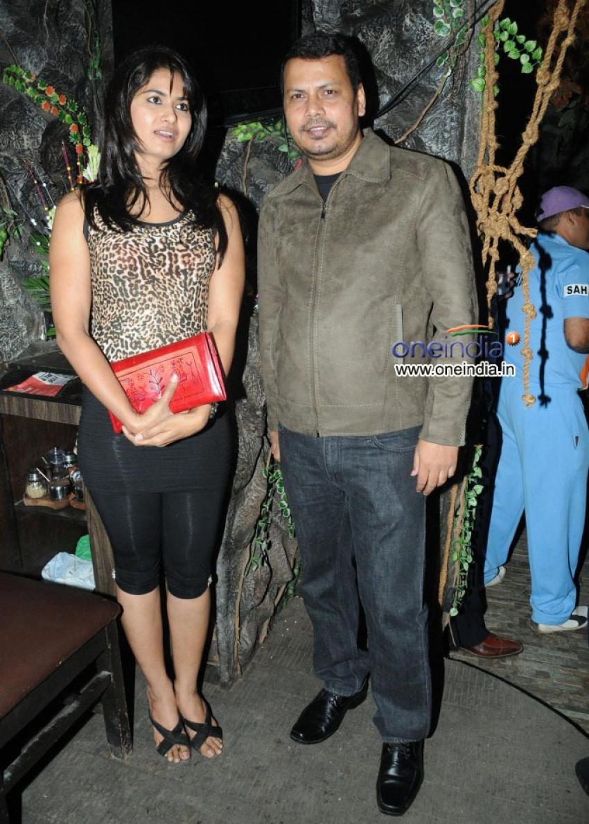 Mr. & MRs. Zaffar Saha Party Photos