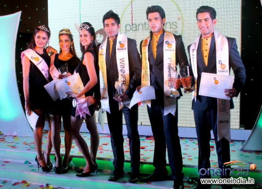 Pantaloons Fresh Face Hunt Grand Finale Photos
