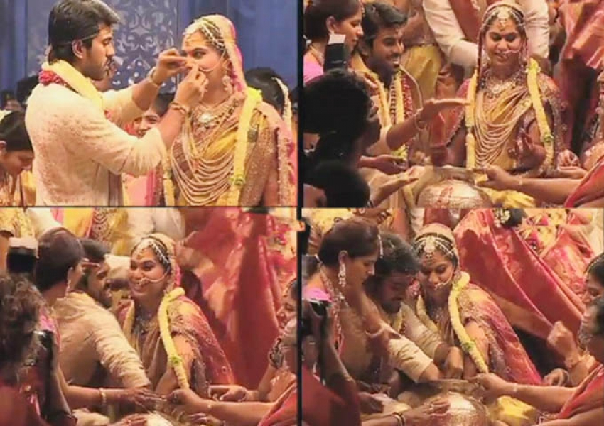 Ram Charan Teja and Upasana Wedding Photos