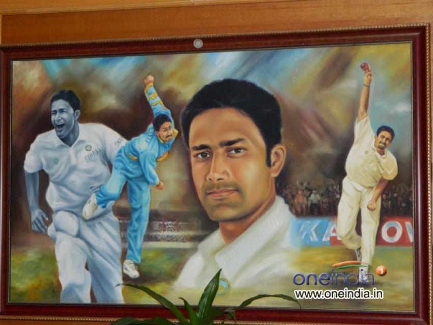 Sunil Joshi Bids Adieu to Cricket Photos
