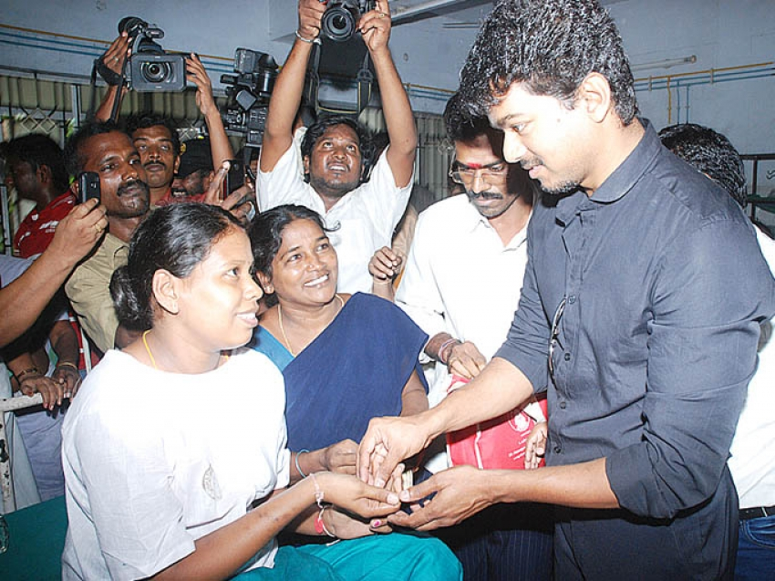 Vijay Birthday Celebration 2012 Photos