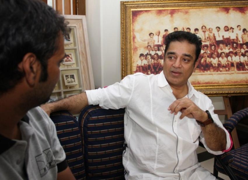 Kamal Blesses Debutant Director