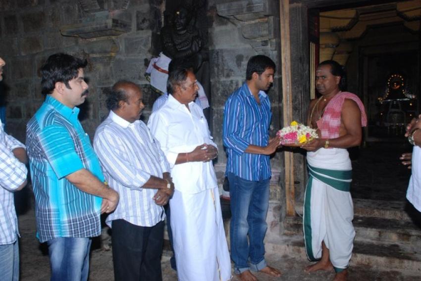 Kanna Laddu Thinna Aasaiya Movie Launch