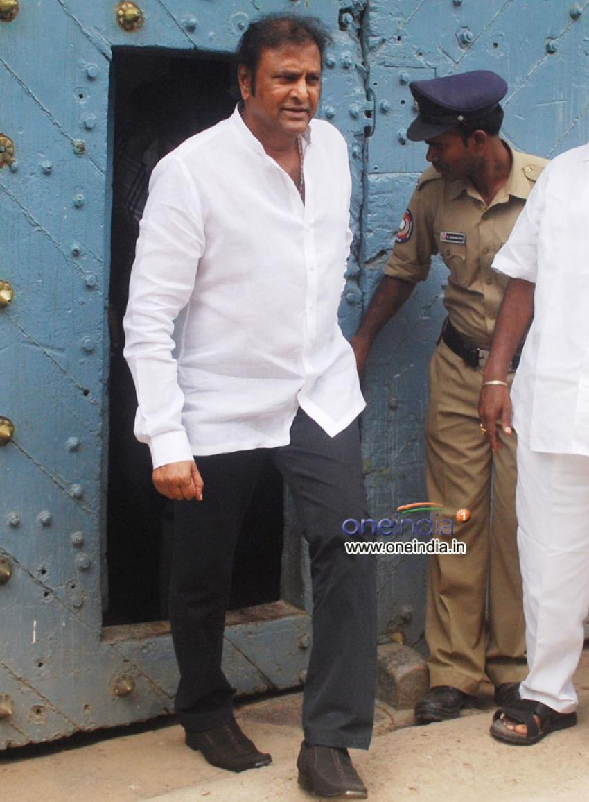 Mohan Babu at Chanchalguda Central Jail
