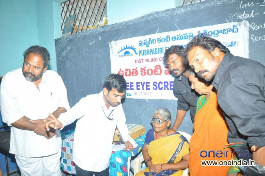 Pushpagiri Eye Institute Free Eye Camp at Secunderabad