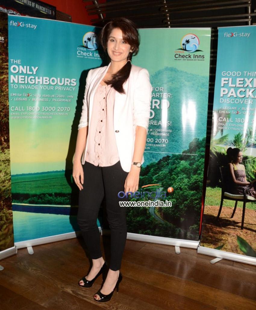 Sagarika Ghatge Launch Citrus Checks Inn