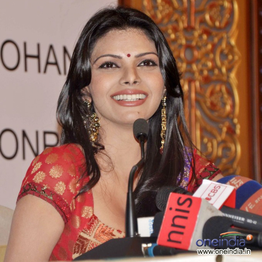 Sherlyn Chopra at Playboy Press Meet