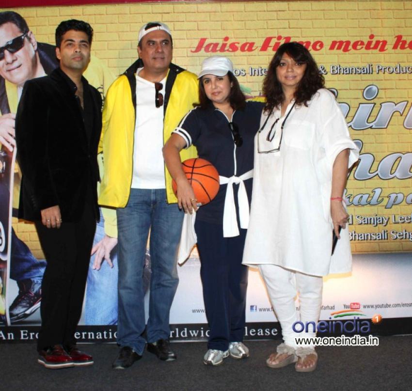 Shirin Farhad Ki Toh Nikal Padi Poster Launch
